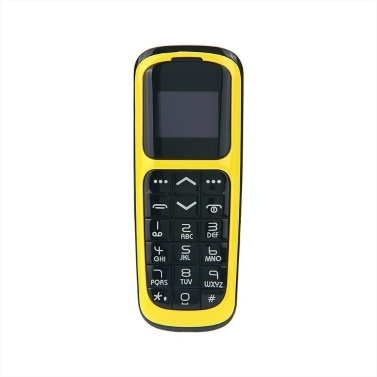 LONG-CZ V2 BT Mini-Funktionstelefon 2G-Mobiltelefon 0,66 Zoll 64 MB + 64 MB Großer Lautsprecher Laute Lautstärke Sprachwechsler Telefonbuch Anruf SMS Alarm SOS Mehrsprachig FM
