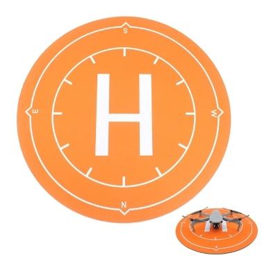 Wasserdichte Landungsunterlage mit 50 cm Durchmesser Tragbare Landematte Kompatibel mit DJI Mavic Air 2 Mini 2 Pro Spark