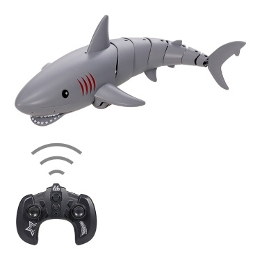 2.4G K23 Mini RC Shark RC Fish Remote Control Toy Underwater RC Boat