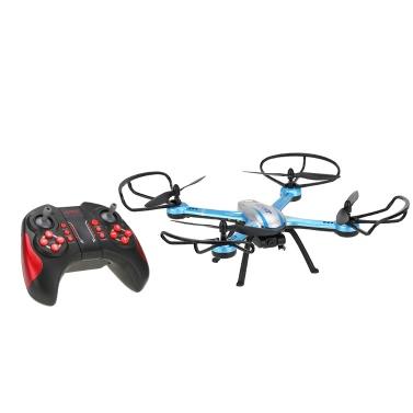 JJR original / C H11C 2.4G 4 canales 6-Axis Gyro CF modo de una tecla Retorno RC Quadcopter con la cámara de 2,0 MP HD