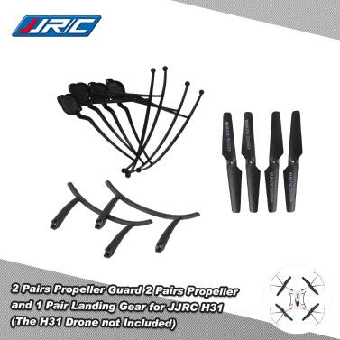 Original JJRC H31 Spare Part 2 Pairs Propeller 4 Pcs Propeller Guard 1 Pair Landing Gear JJRC H31 GoolRC T6 RC Quadcopter
