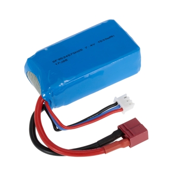 7.4V 1500mAh LiPo Rechargeable Battery for WLtoys A959-B A979-B RC Buggy Car