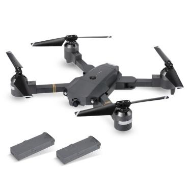 Attop XT-1 WIFI FPV 2.0MP 720 P HD Kamera Klappdrohne RC Quadcopter RTF Zwei Batterien Version