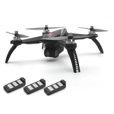 MJX bugs 5W 5G Wifi FPV Drone Quadcopter avec 3 piles