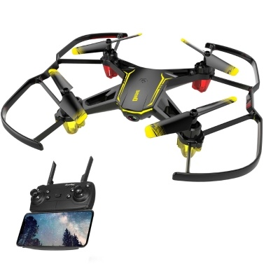 GLOBAL DRONE GW66 Drohne mit 480P Kamera (2 Batterien)
