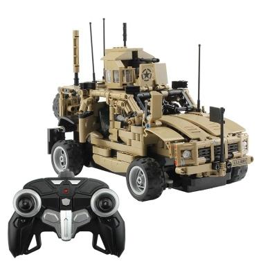 Militärauto-Baustein-pädagogisches Spielzeug