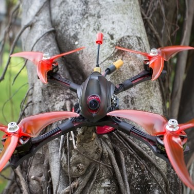 EMAX Hawk Sport 210mm Racing Drohne mit Kamera 1200TVL 35A ESC F4 2207 1700KV Brushless Motor FPV Quadrocopter (PNP Version 1700KV)