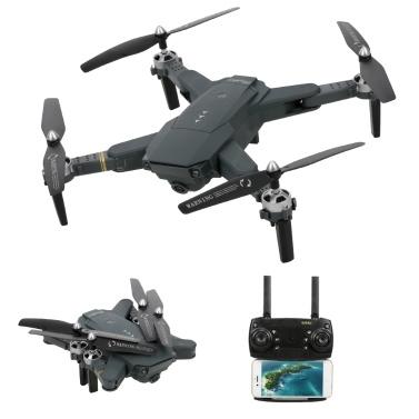 HJ30 Dobrável APP Controle RC Zangão com 720 P Câmera 2.4 Ghz RC Quadcopter
