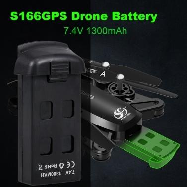 Batterie pour drone CSJ 7.4V 1300mAh pour quadricoptère S166GPS RC