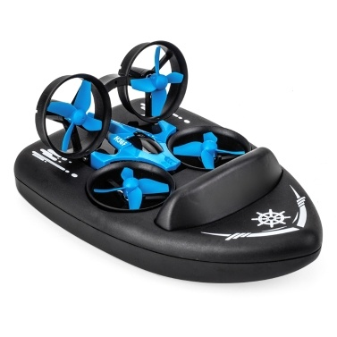 JJRC H36F TERZETTO 3 in 1 Drone + Boat Hovercraft Land Mode
