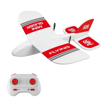 KF606 2.4G RC Airplane Flying Aircraft for Beginner EPP Foam Glider Fixed Wing Airplane