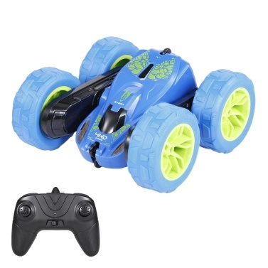 JJRC Q9 2.4GHz 1:28 RC Car Stunt Car Rotating Two-Direction Driving Remote Control 4WD Car with Light
