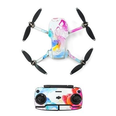Kompatibel mit DJI Mavic Mini Drone Aufklebern Wasserdichter Anti Scratch Drone Oberflächenschutz PVC Aufkleber DIY Zubehör