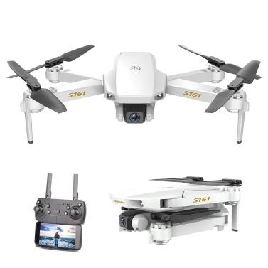 Quadricottero RC CSJ S161 Mini Pro Drone 4K con posizionamento ottico del flusso