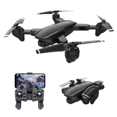 SG701 Wifi FPV 4K Dual Camera Drone Foldable RC Quadcopter with Headless Mode Trajectory Flight
