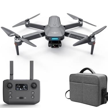 KF101 5G Wifi GPS FPV 4K Kamera RC Drohne 3-Achsen Gimbal Brushless Motor Videoantenne Quadcopter Smart Follow Mode Rucksackpaket
