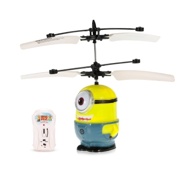 SJ880 Minions Figure Single-eyed Infrared Controlled Hand Sense Control RC Quadcopter RC Toy
