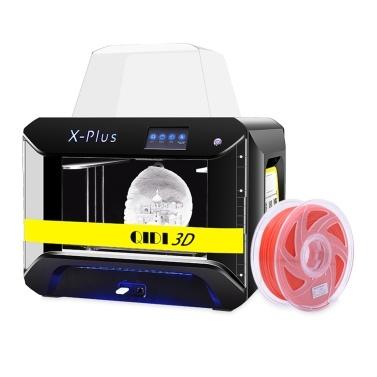 QIDI TECH X-PLUS 3D-Drucker in Industriequalität mit 4,3-Zoll-Farb-Touchscreen