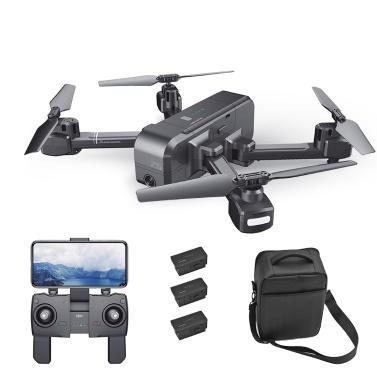 SJ R / C Z5 1080P Weitwinkelkamera Wifi FPV Drohne GPS RC Quadcopter w / 3 Batterie und Umhängetasche