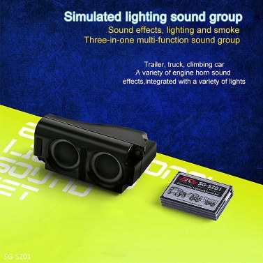 3 in 1 Engine Simulator System Emulational Lighting Smoke and Sound Set for  RC Car Traxxas TRX4 Tamiya XB HB Racing D418 for Sale - US$57 73 | Tomtop