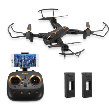 VISUO XS182 1080P Grand Angle Caméra 2.4G GPS 5G Wifi RC Drone Pliable avec 2 Batteries seulement € 86.09