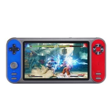 7 in 8 GB Handheld-Videospielkonsole Unterstützung GBA GBC GB SFC FC MD NES MAME-Format Spiele TF-Karte (Build in 3000 Games)