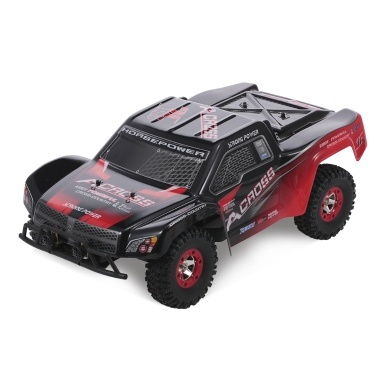Wltoys 12423 1/12 2.4G 4WD RTR RC Auto 50km / h High Speed Short Course Truck