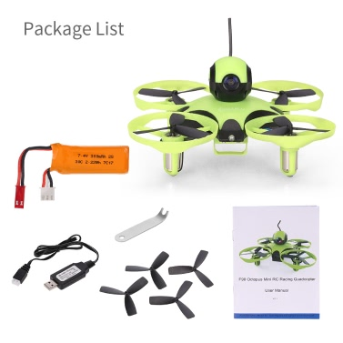 Original Ideafly Octopus F90 90mm 5.8G 600TVL Camera FPV Micro RC Racing Drone Quadcopter with Frsky Receiver - BNF