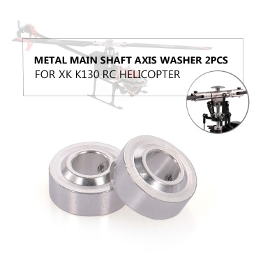 Metall Hauptwelle Axis Washer 2PCS RC Hubschrauber Teil