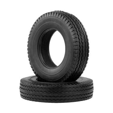 2pcs Trailer Car Rubber Tires