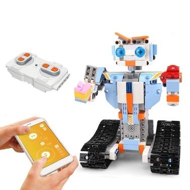 351PCS 2.4GHz Remote Control Robot RC Building Block Robot App Controlled Educational RC Robot