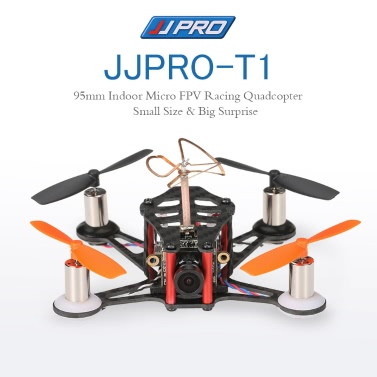 JJRC JJPRO-T1 95mm Micro FPV Racing Quadcopter Drone Based F3 Brushed Flight Controller Frsky Receiver Compatible Frsky Taranis X9D BNF