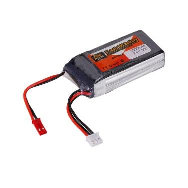 ZOP Power 2S 7.4V 1500mAh 30C LiPo Battery JST Plug