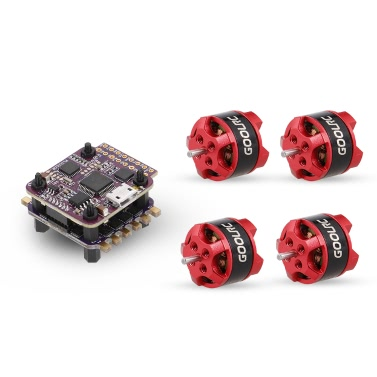 GoolRC 4 in 1 12A ESC F3 Tower Flight Controller Combo und D1104 7500KV Brushless Motor für 80 90 100 Micro FPV Quadcopter