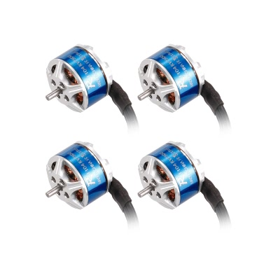 4pcs SUNNYSKY R1104 7500KV 2-3S Brushless Motor for 60 70 80 90mm Micro FPV Racing Drone Quadcopter