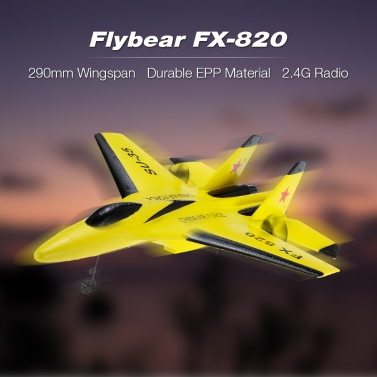 Flybear FX-820 2.4GMicro Indoor RC Airplane Aircraft