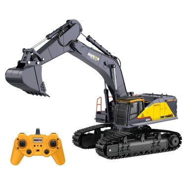 HUINA 1592 1:14 RC Excavator 2.4Ghz Electric Remote Control Excavator Toy