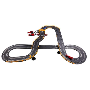 Baisiqi 42505-1C Electric Two Slot Racing Carlimited offer $26.99