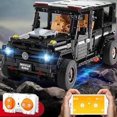 Bausteine Toy Bricks 1:10 RC Geländewagen LKW Lernspielzeug