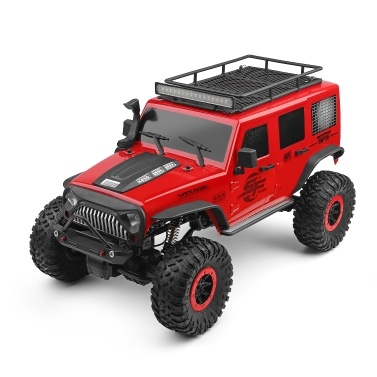 WLtoys 104311 Carro RC 2.4G 1/10 4WD Carro Jeep SUV Escovado Motor de Controle Remoto Off-road Crawler Car