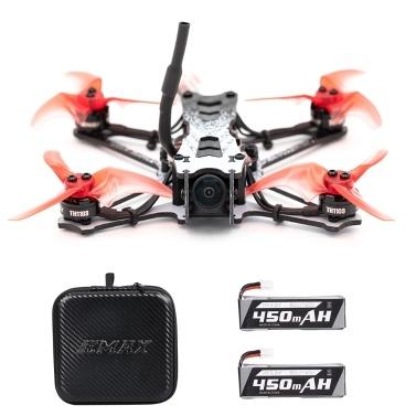 EMAX Tinyhawk II Renndrohne FPV Drohne 120 km / h F4 5A ESC Bürstenloser Motor 7000KV RunCam Nano2 700TVL 37CH 25/100 / 200mW VTX FPV Quadcopter BNF