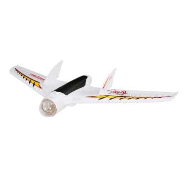 Ursprüngliche Sonicmodell Delta-Flügel 1213mm Spannweite EPO RC Starrflügler KIT Version ohne anfällige elektronische Komponenten