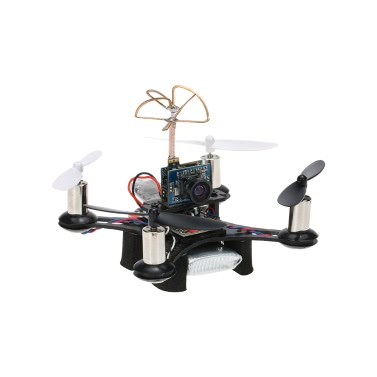 CTW-Mini90 Tiny FPV Indoor 90mm Micro Racing Drone Frsky SBUS-PPM Receiver F3 EVO Brushed Flight Controller 1 Extra   Battery BNF