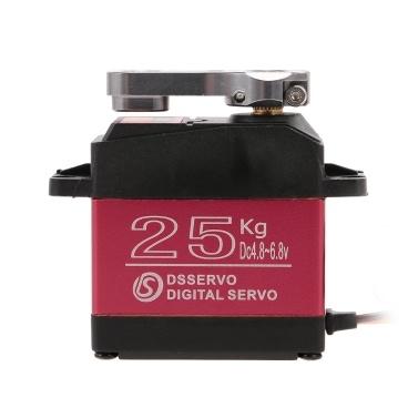 DSSERVO DS3225 25KG Metal Gear High Torque Waterproof Digital Servo