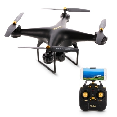 D68W 2.0MP Camera Wifi FPV Drone Altitude Hold Headless Mode 3D Flip One Key Return RC Quadcopter Kids Gift