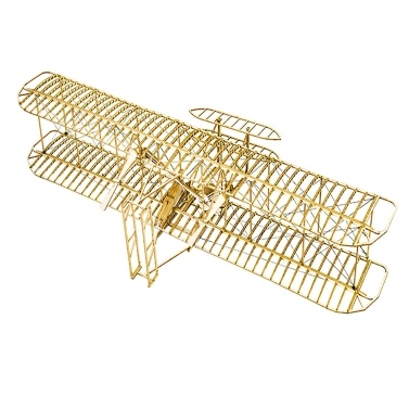 DWH VC01 Maßstab 1:18 510 mm Spannweite DIY Flugzeug Statisches Holzmodellflugzeug