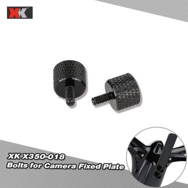 2Pcs Original XK RC Part X350-018 Bolts for Camera Fixed Plate of XK X350 RC Quadcopter