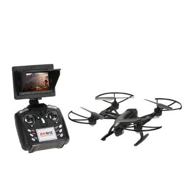 JXD 509G 2,4 G 4-Kanal 6-Achs Gyro 5,8 G FPV integrierte Originalhöhe Sperren Flug RC Quadcopter mit 2.0MP HD Kamera