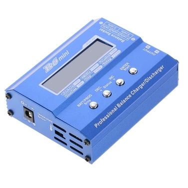 B6 Mini 80W Digital Pocket Balance Charger Discharger XT60 Plug RC Drone Li-ion LiFe NiCd NiMH Lipo Battery