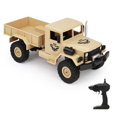 JJR/C Q62 1:16 RC Car Off-Road Military Truck